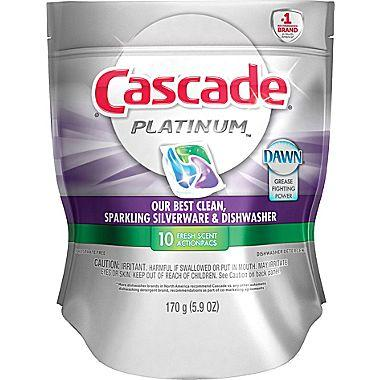 Up to 60% Off Cascade Action Pacs Dishwasher Detergent