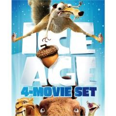 $13 Ice Age 4-Movie Collection (Blu-ray)