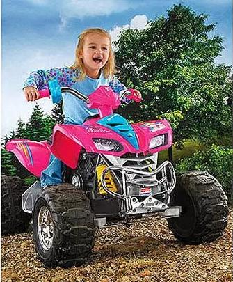 $175.15 Fisher-Price Power Wheels Barbie KFX 12-Volt Battery-Powered Ride-on