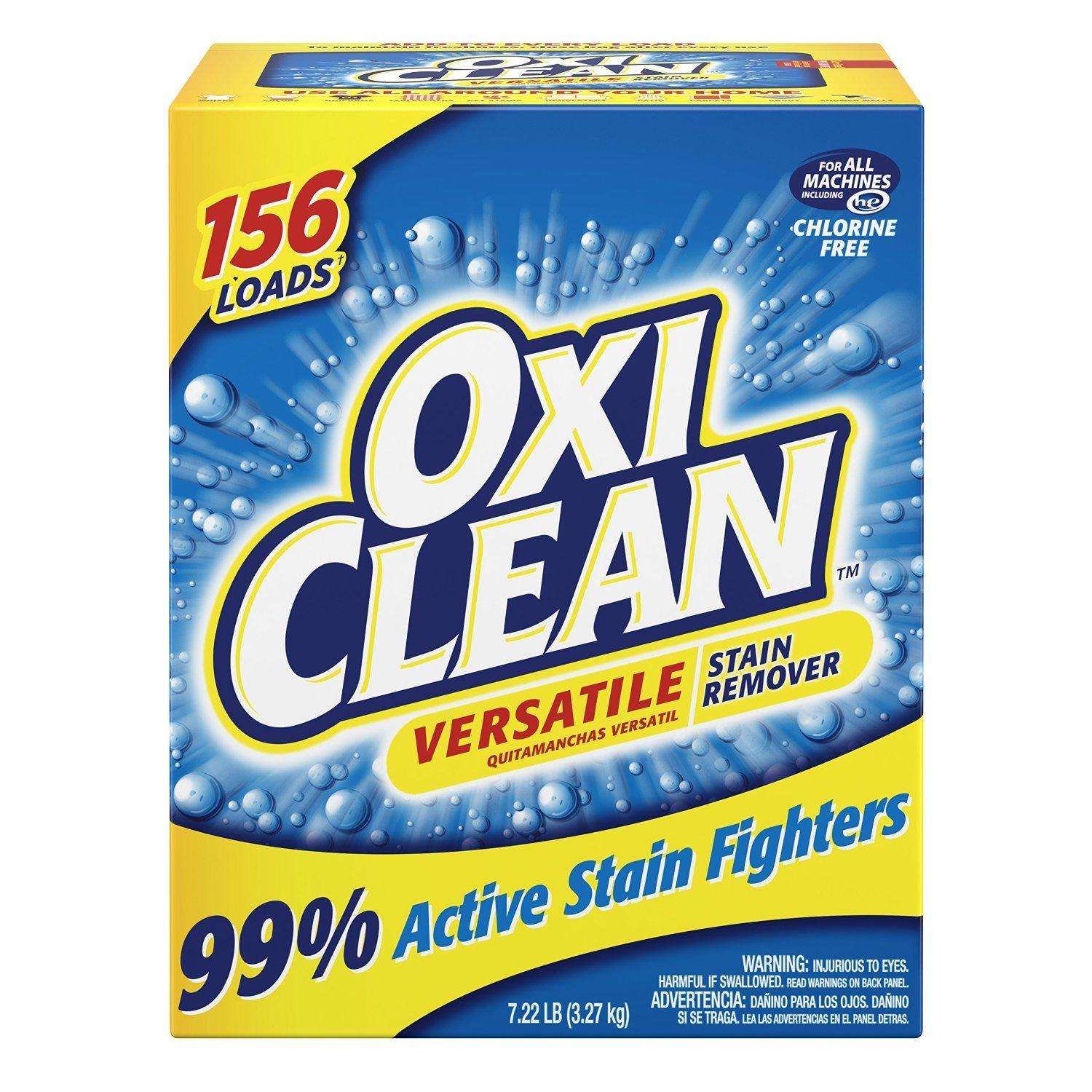 $9.49 Oxiclean Versatile Stain Remover, 7.22 Pounds