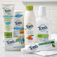 30% Off Tom's of Maine Collection Sale @ Zulily