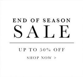 Up to 50% Off  + Extra 10% OffEnd Season Sale @ Allsole.com