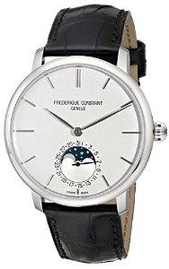 Lowest price! Frederique Constant Men's FC705S4S6 Slim Line Analog Display Swiss Automatic Black Watch