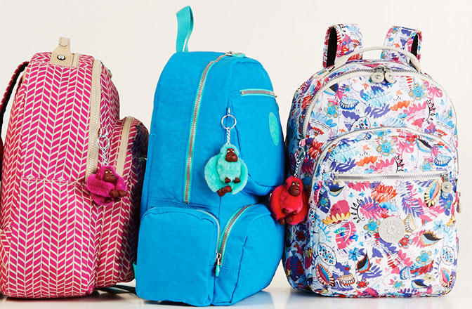 Backpacks from $59.99, Accessories from $19.99 Back To School Exclusive Sale Preview @ Kipling USA