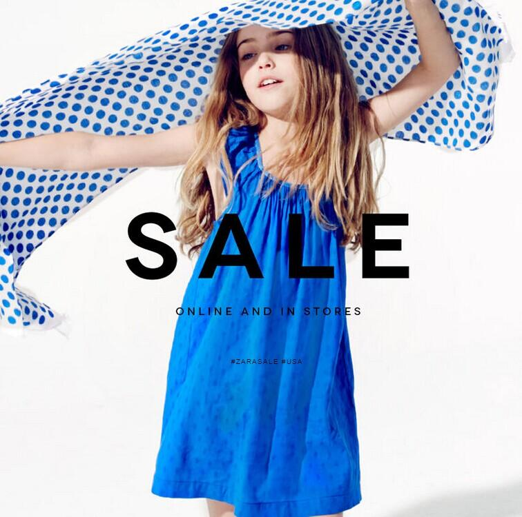 Up to 50% Off Kids Clothing Sale@ Zara