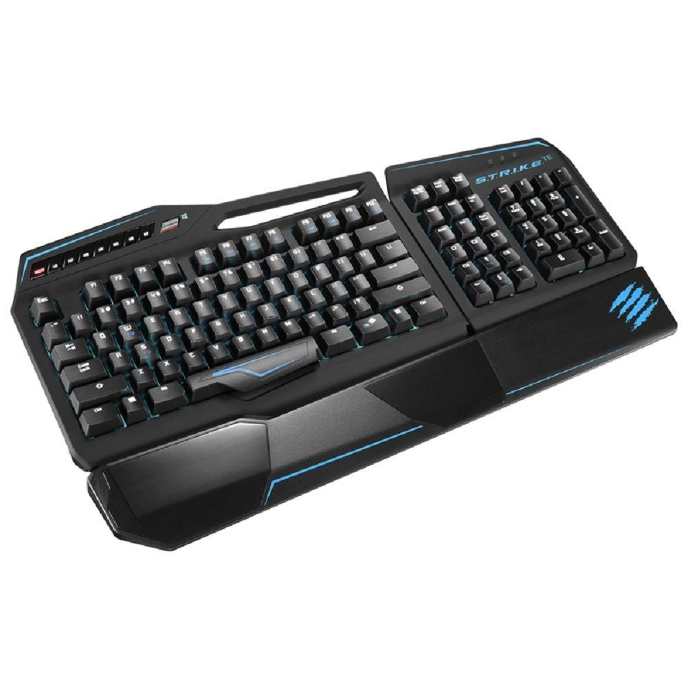 $76.99 Mad Catz S.T.R.I.K.E.TE Tournament Edition Mechanical Gaming Keyboard