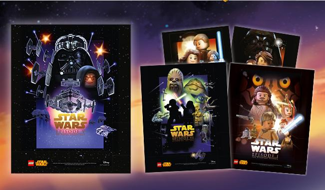 Free Collectible PosterWith Star Wars Lego Purchase