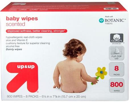25% Off + Free Shipping Select Up&Up Diapers and Wipes Sale @ Target