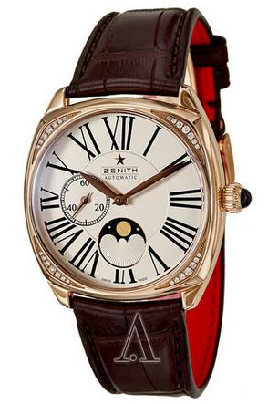 $6995 Zenith Women's Heritage Star Moonphase Watch 22-1925-692-01-C725 (Dealmoon Exclusive)