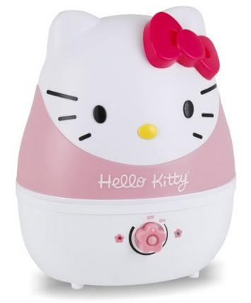 Crane - Hello Kitty 1-Gal. Ultrasonic Cool Mist Humidifier - Pink/White