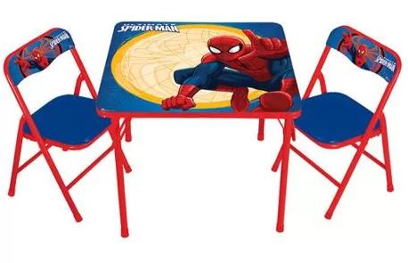 $24.98 Marvel Spider-Man Erasable Activity Table