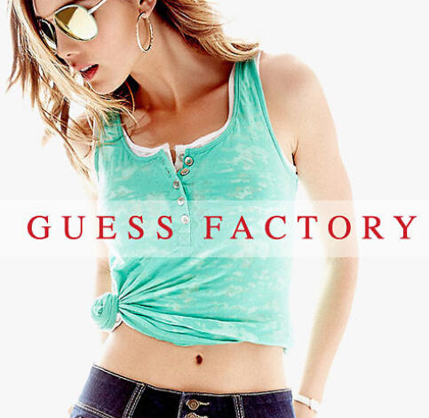 Up to 50% Off Sitewide @ GUESS FACTORY