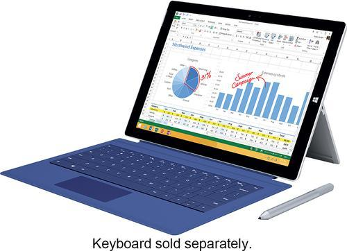 $383.99Pre-owned Microsoft Surface Pro 3 - 64GB - Intel i3 - Silver