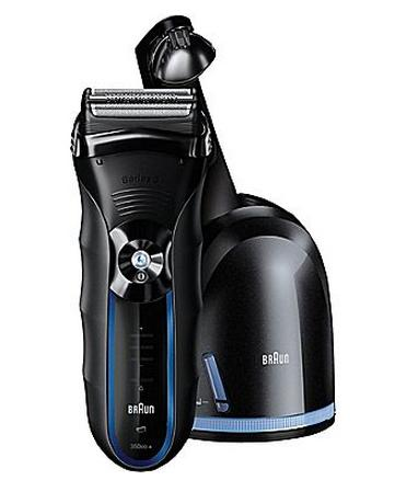 $59.99 Braun Shaver 3 Series 350cc with Bonus Mobile Shaver