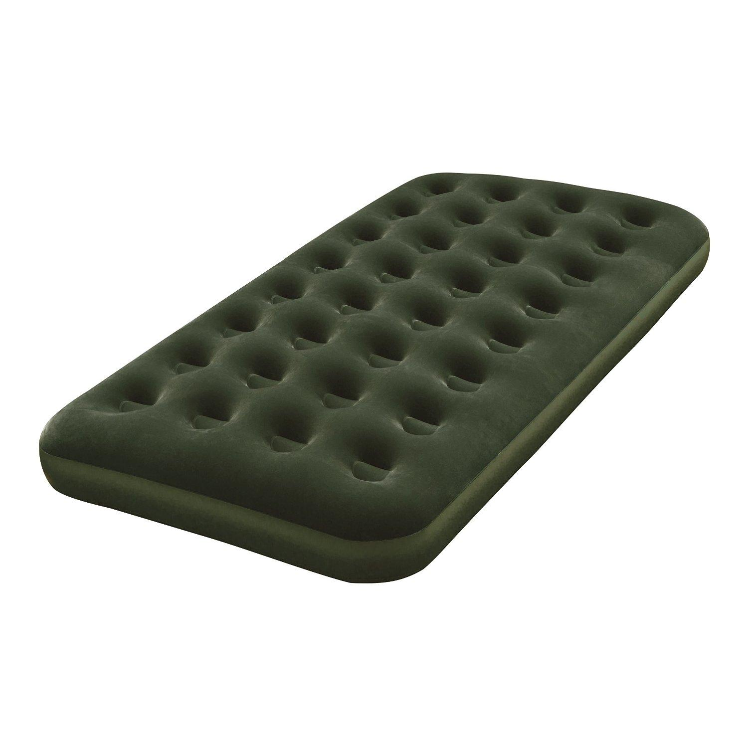 Bestway Twin Flocked Air Bed with Battery Pump