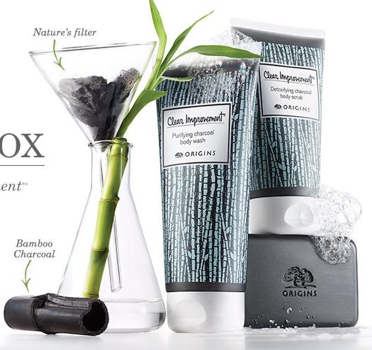 New Release Origins launched New Clear Improvement Body Treatment