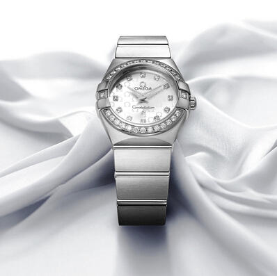 Omega Constellation Mini Diamond Ladies Watch