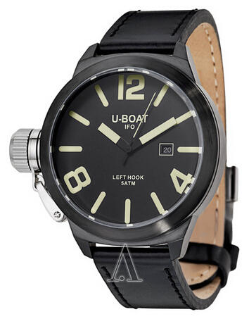 $429 U-Boat Left Hook IFO Men's Watch 7248