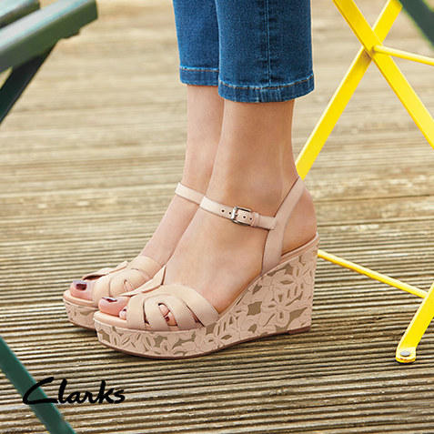 Up To 65% Off Clarks Women Sale @ Zulily