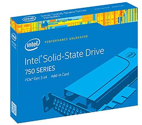 $359.99 Intel Solid-State Drive 750 Series SSDPEDMW400G4R5 400GB PCI-Express 3.0 MLC