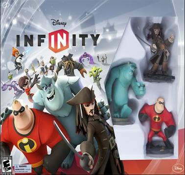 $17.99 Disney Infinity Toy Box Challenge Starter Pack - Nintendo 3DS