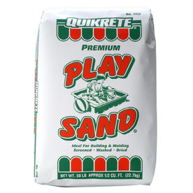 $2.5 QUIKRETE 50-lbs Play Sand