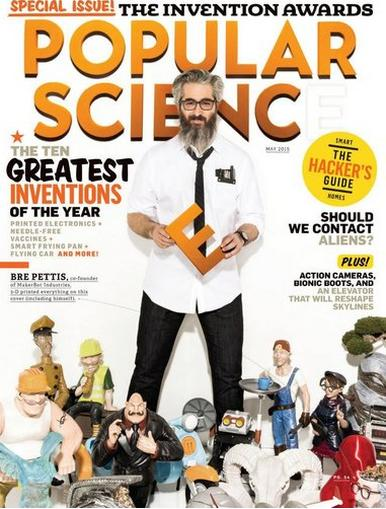 $4.99 1-Year Subscription of Popular Science Magazine