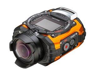 Ricoh WG-M1 Orange Waterproof Action Video Camera with 1.5-Inch LCD (Orange)