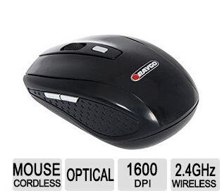 Free after rebate Raygo 2.4 GHz 6-Button Black Wireless Optical Mouse R12-43091