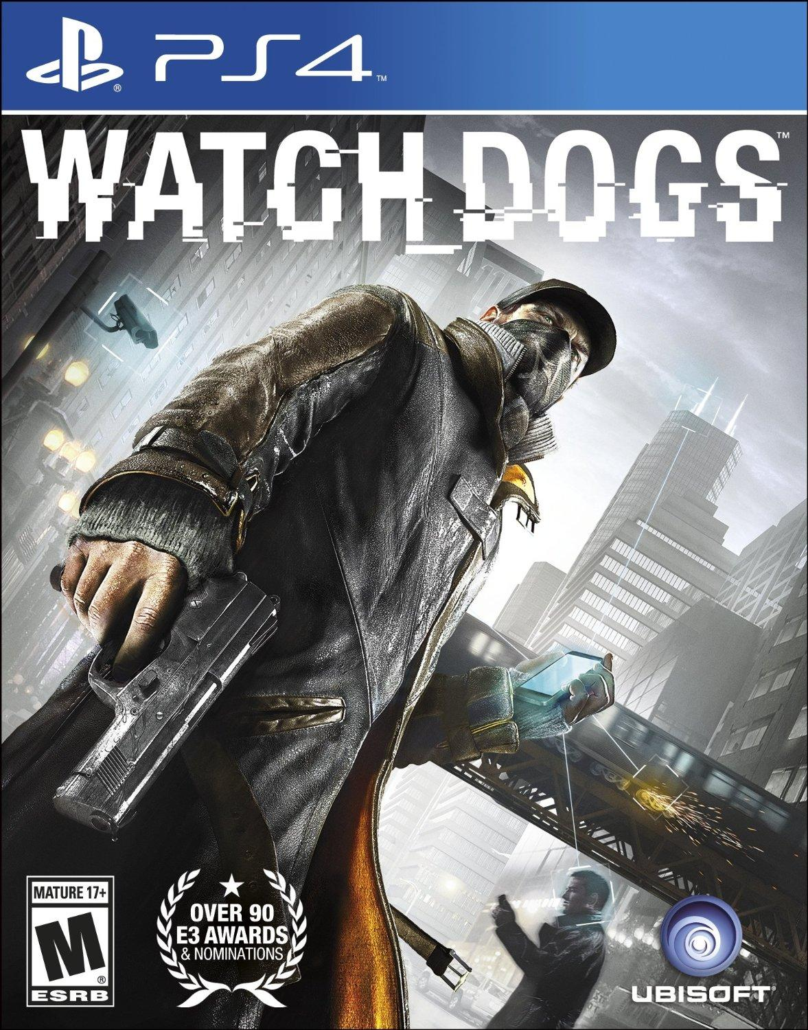 $14.5 Watch Dogs - PlayStation 4