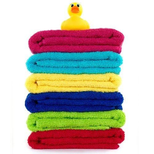 $24.99 5 Pack: Northpoint Jacquard Textured 100% Cotton Bath Towels -in Assorted Colors