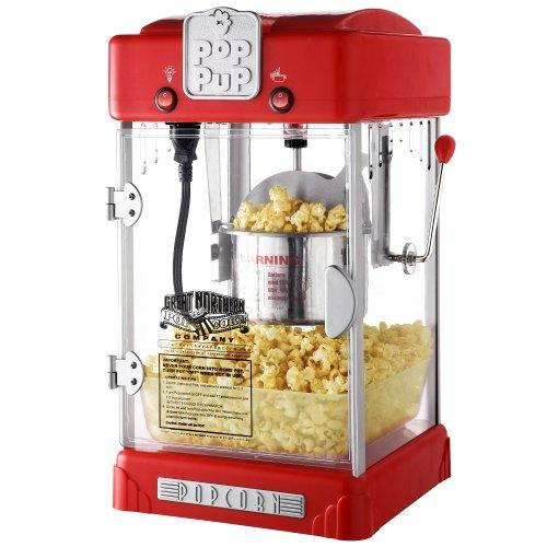 $33.34 Great Northern Popcorn Machine Pop Pup 2-1/2oz Retro Style Popcorn Popper