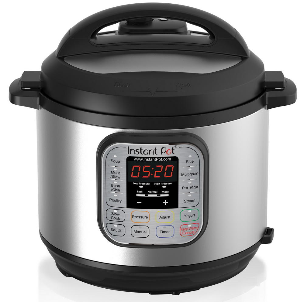 $94.76 Instant Pot IP-DUO50 7-in-1 Programmable Latest 3rd Generation Technology Pressure Cooker, 5-Quart