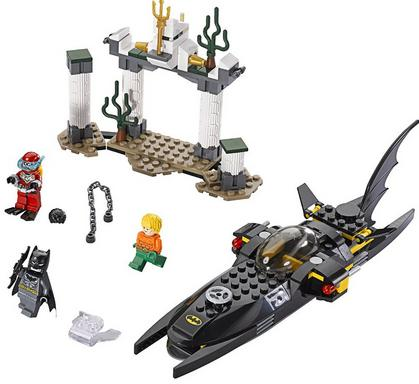 $31.86 LEGO Superheroes Black Manta Deep Sea Strike 76027