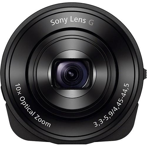 $99.99 Sony DSC-QX10/B 18.2 MP Attachable Lens-Style Camera