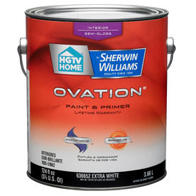 50% Off  Select HGTV Home by Sherwin-Williams Ovation Paint @ Lowes
