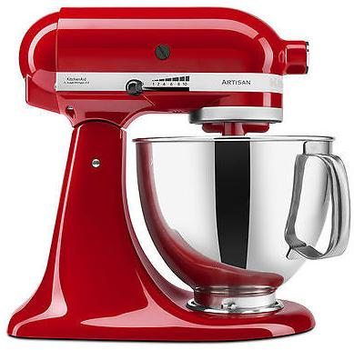 $169.99 Refurb KitchenAid KSM150PS Artisan 5-qt. Stand Mixer