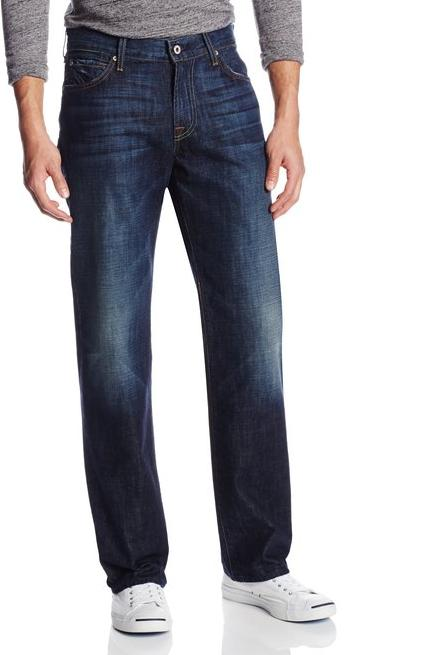 $58.09 7 For All Mankind Men's Austyn Relaxed Straight-Leg Jean