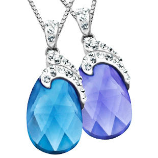 Drop Pendant with Swarovski Crystal Only $17 Plus Free Shipping