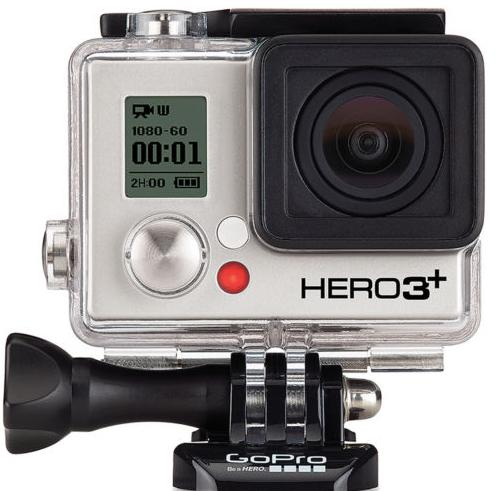 $249.99 GoPro HERO3+ Black Edition Camera Manufacturer Refurbished