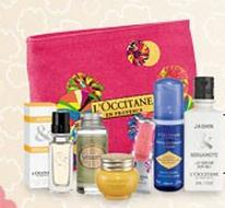 Free Summer Pouch + Collectible Tote with Any $50 Purchase @ L'Occitane