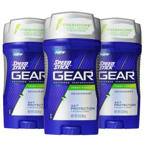 6Speed Stick Men's Deodorant (3 Pack)