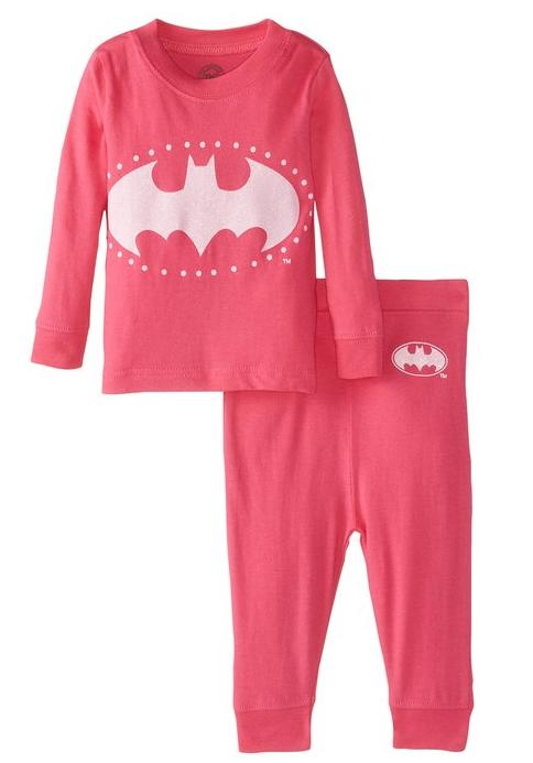 $17 DC Comics Baby Girls' Bat Girly 2 Piece Cotton Infant Be the first to review this item