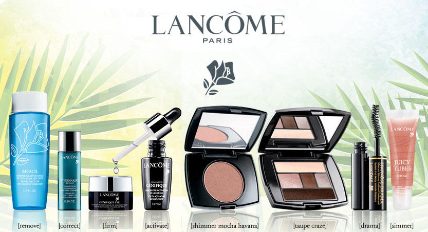 Free 9 Deluxe Skincare and Beauty Products + Free Shipping With Any $49 Purchase @ Lancome