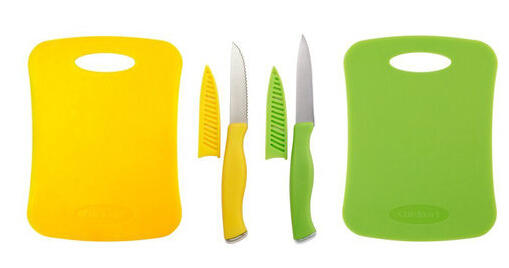 Cuisinart 6-Piece Cutting Board and Knife Set