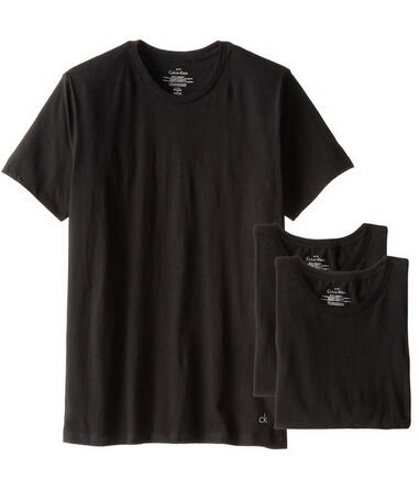 Calvin Klein Men's 3 Pack Cotton Classics Short Sleeve Crew Neck T-Shirt