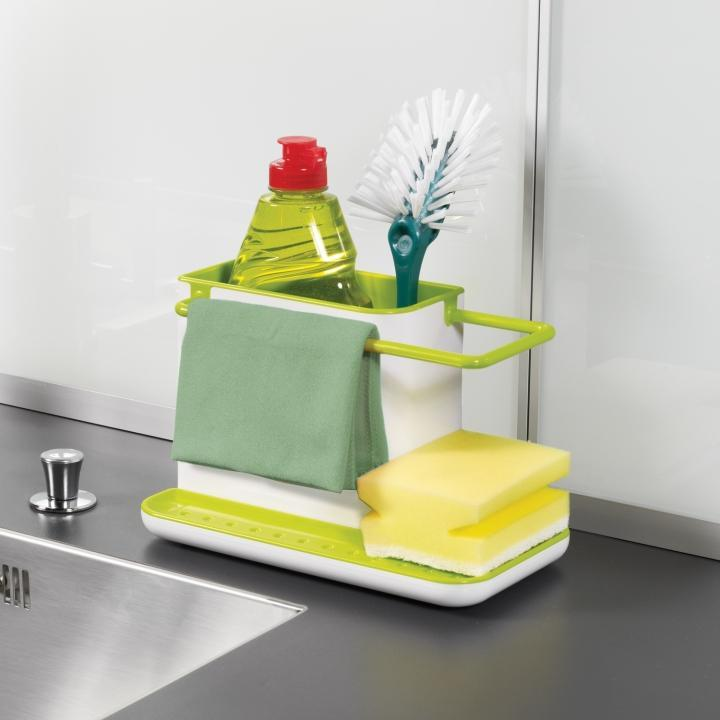 Joseph Joseph Sink Caddy, Kitchen Soap and Sponge Holder,