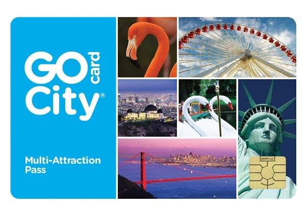As Low as $39.99 Two-Day All-Inclusive Go City Card Including Free Admission to Dozens of Popular Attractions