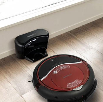 Moneual RYDIS H68 PRO Hybrid Robot Wet/Dry Mop Vacuum Cleaner w/ Mapping
