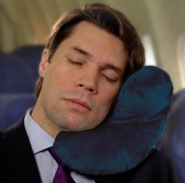 J Pillow Travel Pillow - Head, Chin and Neck Support
